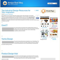 Top Industrial Design Resources for Your Inspiration
