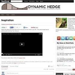 Inspiration | Dynamic Hedge