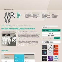 Inspiration pour une navigation web ergonomique