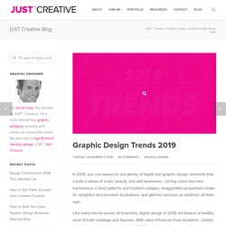 Graphic Design Trends 2019: Inspiration & Examples