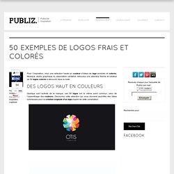 50 exemples de logos frais et colorés