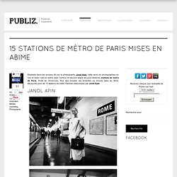 15 stations de métro de Paris mises en abime
