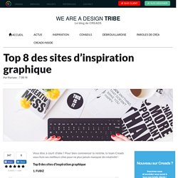 Top 8 des sites d'inspiration graphique - Le Blog de Creads