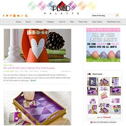 Kids Craft Blog by PlaidOnline.com - Monday Funday: Frog Prince Valentine Card Holder