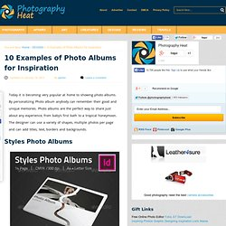 10 Examples of Photo Albums for Inspiration | Photography Heat - Photography Inspirations and Online Resources for Designers