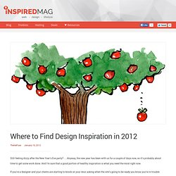 Where to Find Design Inspiration in 2012