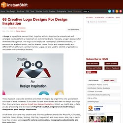 66 Creative Logo Designs For Design Inspiration