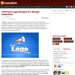 110 Fresh Logo Designs For Design Inspiration