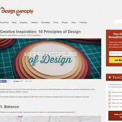 Creative Inspiration: 10 Principles of Design