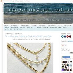 inspiration and realisation: DIY fashion blog