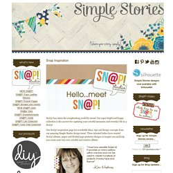 Snap Inspiration - Simple Stories