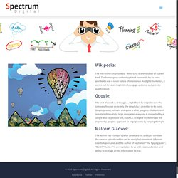 INSPIRATION – Spectrum Digital