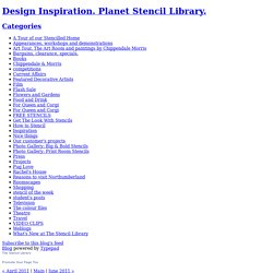 Design Inspiration. Planet Stencil Library.: May 2011