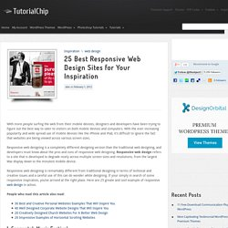 25 Best Responsive Web Design Sites for Your Inspiration