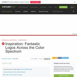 Inspiration: Fantastic Logos Across the Color Spectrum