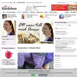Inspiration: virkade filtar - Ett varv till med Anna - Mitt handarbete