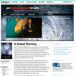 Official An Inconvenient Truth: Global Warming Effect, Al Gore M