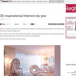 35 Inspirational Interiors by yoo | HomeDSGN, a daily source for inspiration and fresh ideas on interior design and home decoration.
