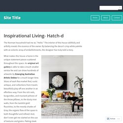 Inspirational Living- Hatch-d – Site Title