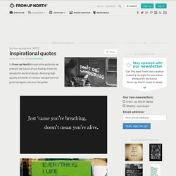 Design inspiration & news - StumbleUpon