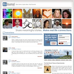 Tru Journal - Online Inspirational Social Community Social Network