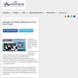 Inspitrational HTML5 Websites