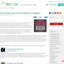 The 100 Most Inspirational Weight Loss Bloggers