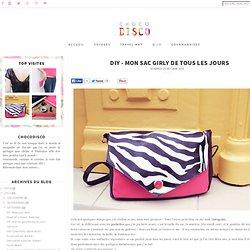 inspirations, voyages, DIY et gourmandises...: DIY - Mon sac girly de tous les jours
