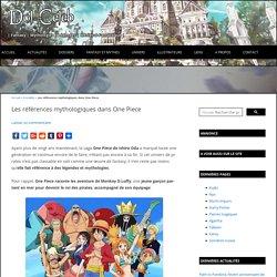 Références et inspirations mythologiques dans One Piece