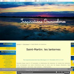 Saint-Martin: les lanternes - Inspirations-Omnicolores