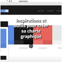Inspirations et outils pour créer sa charte graphique