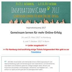 InspirationsCamp - Gemeinsam lernen für mehr Erfolg im Internet