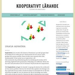 Struktur: Inspiratören – Kooperativt Lärande