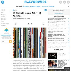 50 Books to Inspire Artists of All Kinds