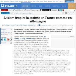 France : L'islam inspire la crainte en France ...