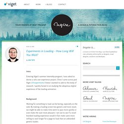 Inspire | Design & Interaction Blog