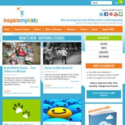 Inspire My Kids | Inspiring Stories, Videos and Projects for Children and the Adults in Their Lives