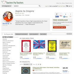 Store: Aspire-To-Inspire - TeachersPayTeachers.com