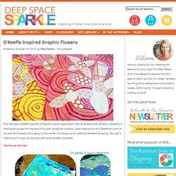 Georgia O'Keeffe inspired Art Lesson