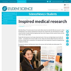 Inspired medical research