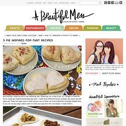 3 Pie Inspired Pop-Tart Recipes