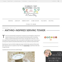 Anthro-Inspired Serving Tower