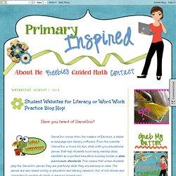 Student Websites for Literacy or Word Work Practice Blog Hop!