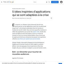 5 idées inspirées d'applications qui se sont adaptées à la crise