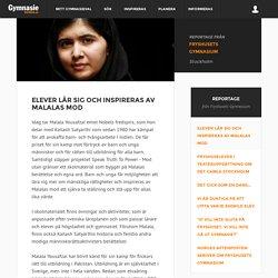 Elever lär sig och inspireras av Malalas mod - GymnasieGuiden
