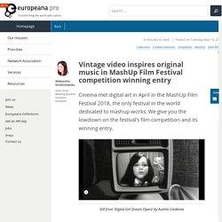 Vintage video inspires original music in MashUp Film Festival competition winning entry