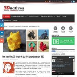 Les modèles 3D inspirés du designer japonais BS3