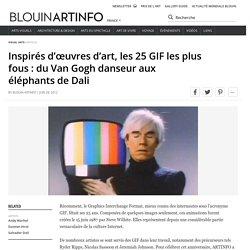 Inspirés d'œuvres d'art, les 25 GIF les plus fous : du Van Gogh danseur aux éléphants de Dali