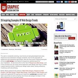 35 Inspiring Examples Of Web Design Trends