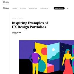 Inspiring Examples of UX Design Portfolios